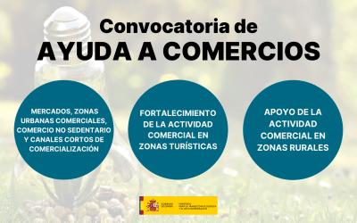 Convocatoria: Ayudas de apoyo al comercio