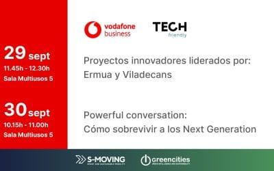 TECH friendly y Vodafone en la feria Greencities de Málaga
